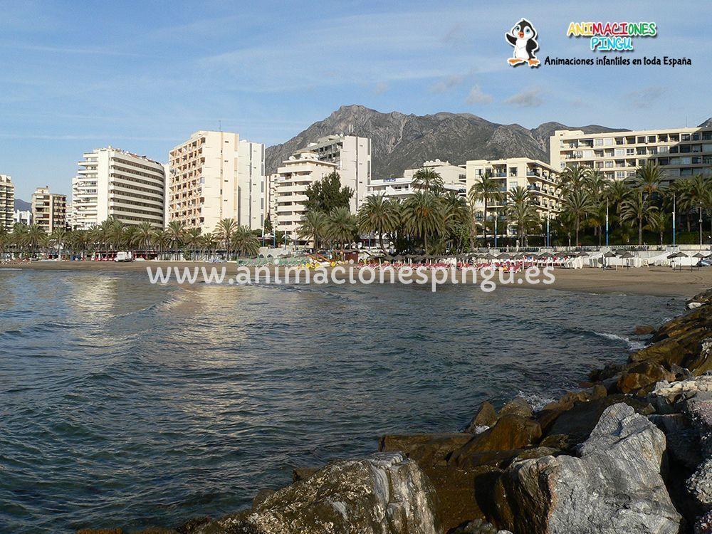 Animaciones fiestas infantiles Marbella