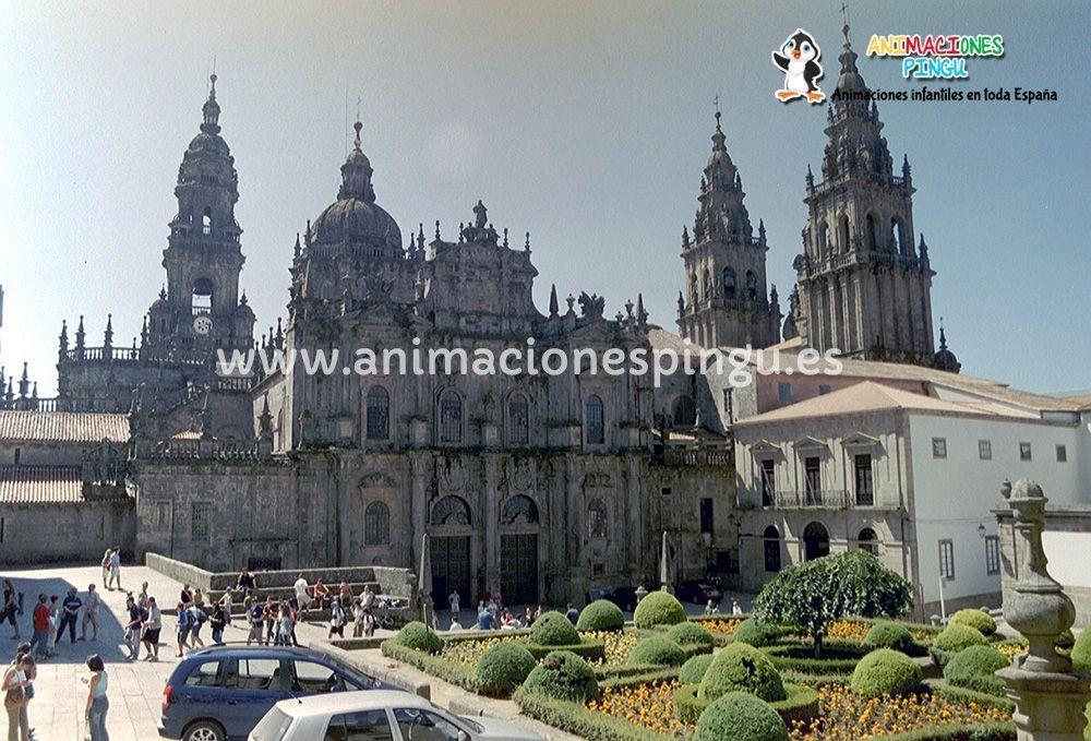 Animaciones fiestas infantiles Santiago de Compostela